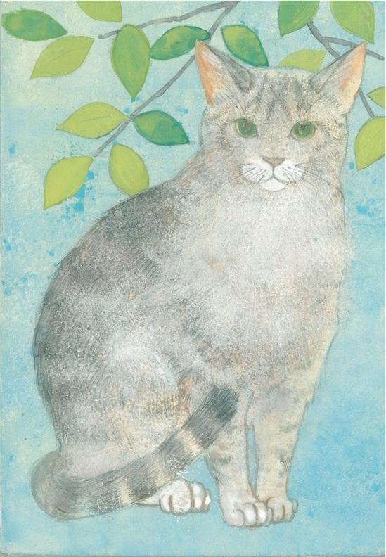 日本画体験教室 猫.jpg