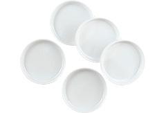 237911:絵皿 8cmプラ製5枚組